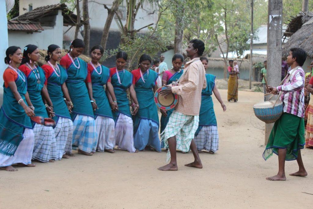 Tanz der Santal
